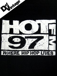 """Hot 97"" Promotional T-Shirt"