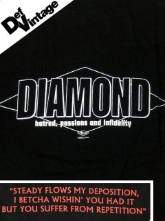 "'97 DIAMOND ""Hatred, Passions and Infidelity"" T-shirt"