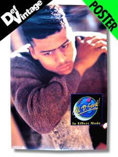 "'88 AL B SURE ""In Effect Mode"" Promotional Poster"