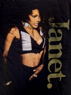 "JANET JACKSON ""Vintage Tour '93"" Reproduction Tee"