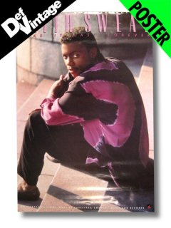 "1987 KEITH SWEAT ""Make It Last Forever"" Promotional Poster"