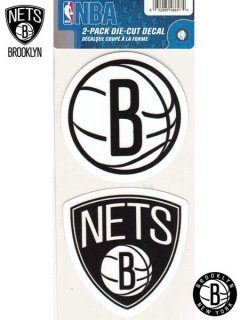 BROOKLYN NETS 4 INCH DIE CUT DECAL