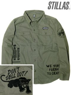 """DON'T SELL OUT!"" MILITARY SHIRT"