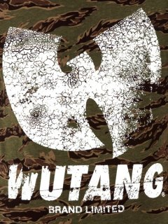 "WU-TANG LTD ""The Wu Wavy"" Tee in Camo"