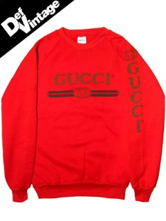 90's Vintage OLD GUCCI Crew Sweat