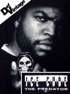 "'92 ICE CUBE ""The Predetor"" T-Shirt"