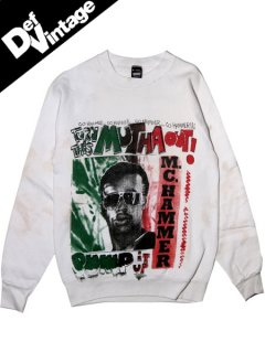 "'89 MC Hammer ""Turn This Mutha Out"" Crew Sweat"