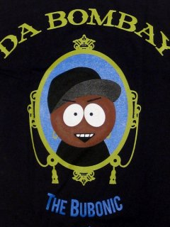 """The Da Bombay"" Tee in Black"