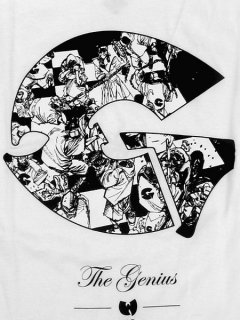 """The Genius"" Tee in White"
