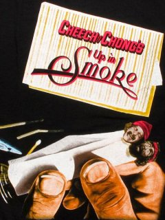 "Cheech and Chong ""Up In Smoke Movie Poster"" T-Shirt"