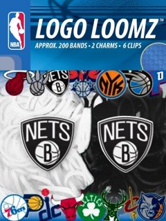 Brooklyn Nets Logo Loomz
