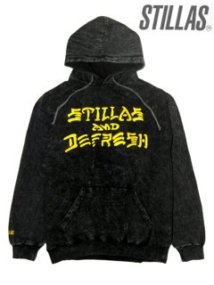 """DEFRESH"" Chemical Wash P/O Hoody"