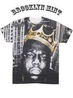 "The Notorious B.I.G. ""Crown Sublimation"" T-Shirt"