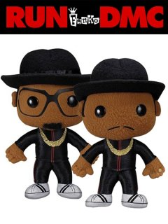 Funko RUN DMC Plush Doll (Set)