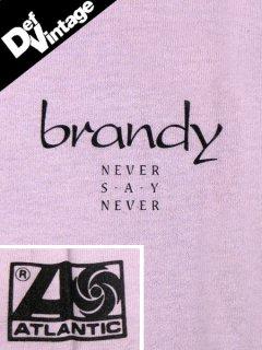 "Brandy ""Never Say Never"" Promo T-Shirt"