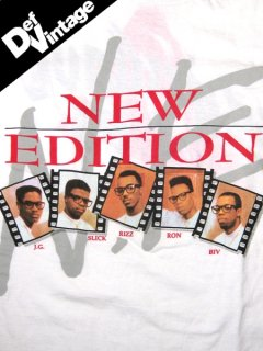 "'89 New Edition ""HEAT WAVE"" T-Shirt"