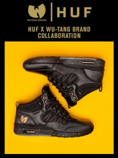 The HUF x Wu-Tang HR-1 Sneaker