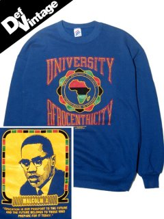 """'89 Malcolm X """"Afrocentricity"""" College Sweat"""