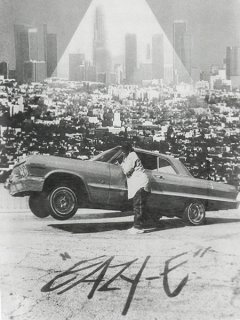 "Eazy-E ""Los Angeles Skyline"" T-Shirt"