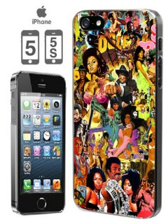"""2 BLACK 2 STRONG"" iPhone5,5S Case"