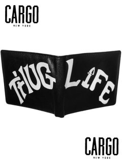 "The ""Thug Life""  Wallet in Black"