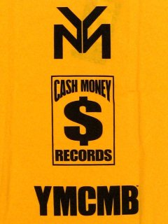 The Cash Money Tee in Gold YMCMB