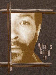 """Marvin Gaye """"WHAT'S GOING ON"""" T-Shirt"""