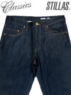 "Stillas Classics ""90's Basic Straight"" Rigid Denim Pants"
