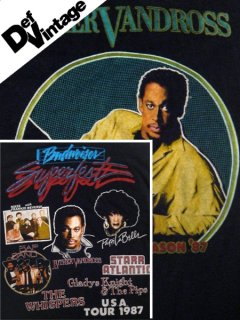 "1987 Budweiser Superfest ""Luther Vandross"" T-Shirt"