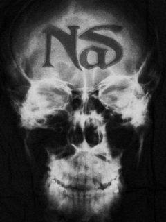 Nas Skull X-Ray T-Shirt