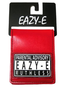 "Eazy E ""Ruthless"" Red Bifold Wallet"