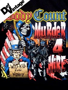 "Body Count ""Murder 4 Hire Tour 06"" T-Shirt"