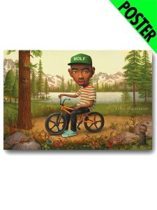 "Tyler The Creator ""WOLF"" Official Poster"
