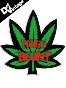Phillies Blunt Sticker