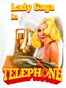 LADY GAGA TELEPHONE T-SHIRT