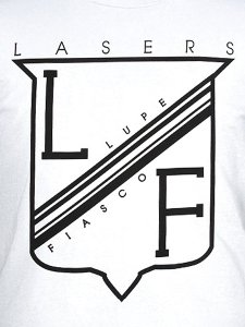LUPE FIASCO LASERS CREST T-SHIRT