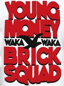 WAKA FLOCKA FLAME YOUNG MONEY BRICK SQUA
