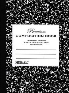 BAZIC Premium Composition Book