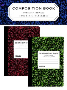 BAZIC Mini Composition Book (2冊セット)