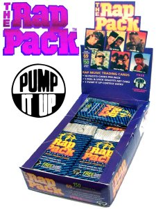 """The Rap Pack Series One"" Trading Card"