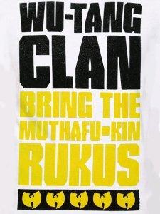 WU-TANG CLAN RUKUS T-SHIRT