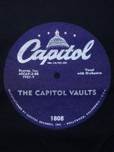 "Capitol Records ""Purple Vinyl"" T-Shirt"
