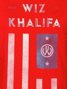 "WIZ KHALIFA ""FLAG"" T-SHIRT"