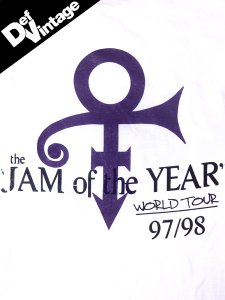 "Prince ""JAM of The Year '97, '98"" T-Shirt"