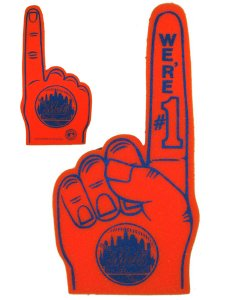PROFANITY New York Mets Form Finger
