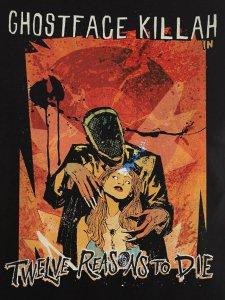 "Ghostface Killah ""Twelve Reasons to Die"" T-Shirt"