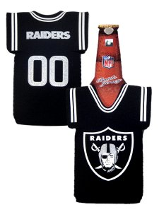 OAKLAND RAIDERS BOTTLE JERSEY