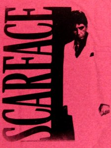 Scarface Vintage Print T-Shirt