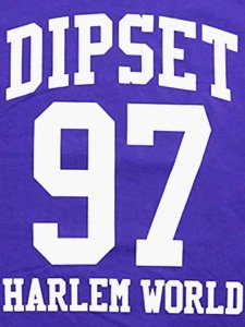 "DIPSET USA ""97 HARLEM WORLD CAM'RON"" T-Shirt"