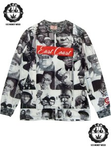 "East Coast ""Real Hip Hop"" L/S T-Shirt"